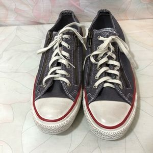 CONVERSE ALL STAR Zipper Sneakers SZ 9